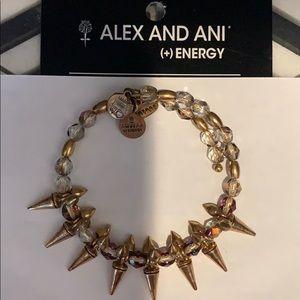 """Alex&Ani 🔥""""Rock &Raw""""wrap Gold  Bangle 🔥"""